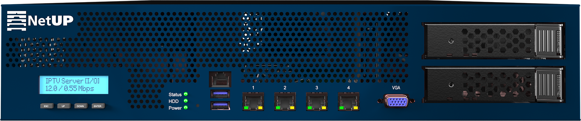 NetUP DVB IP Streamer - Universal Headend